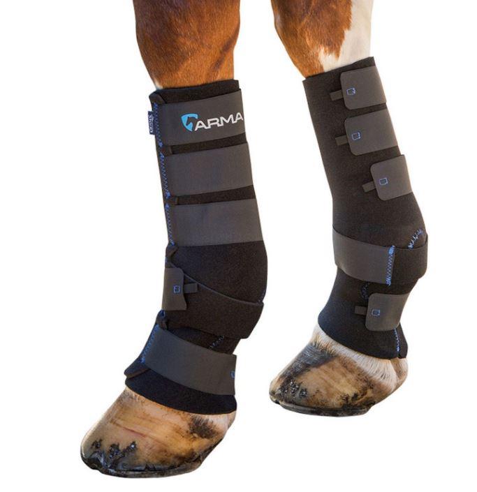 Protectores patas caballo