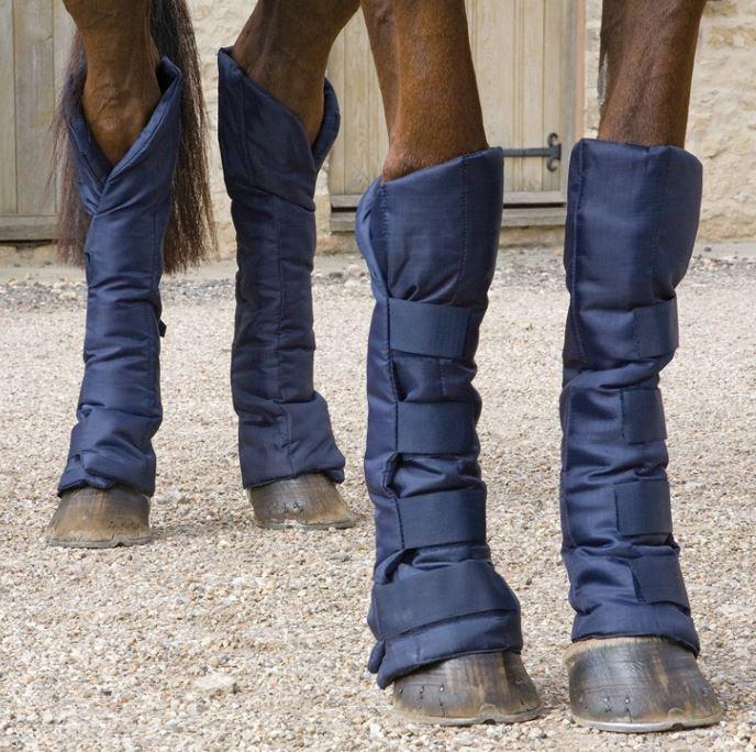 Protectores patas caballo para viajes