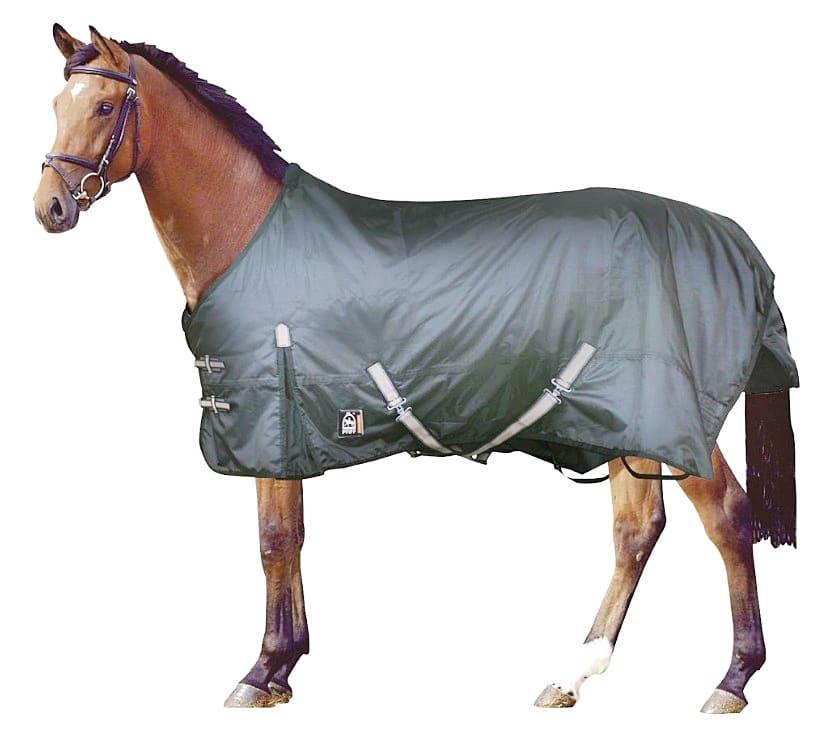 Capa impermeable para caballo