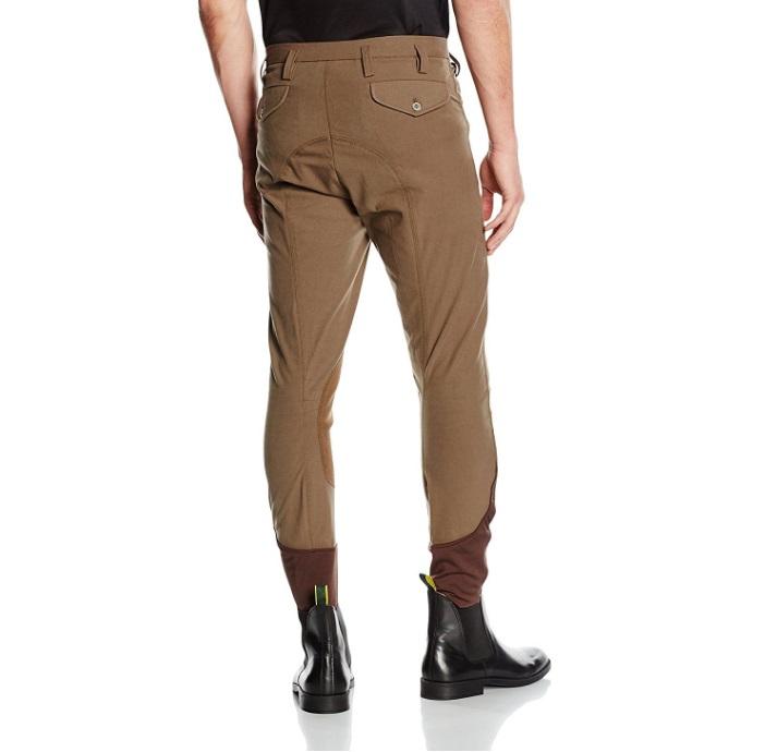 Pantalón equitación hombre marrón