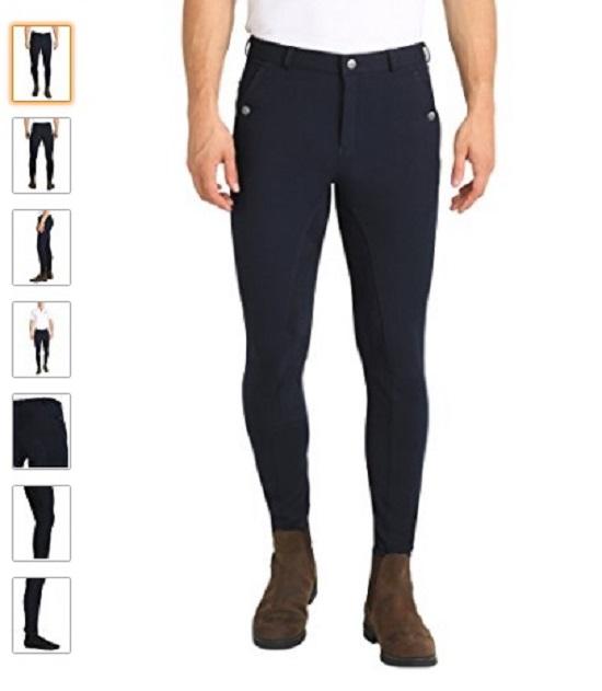 Pantalón equitación hombre