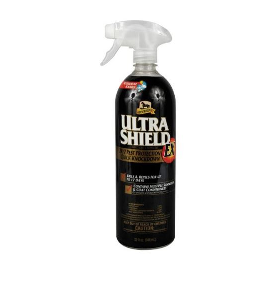 Insecticida en spray para caballos